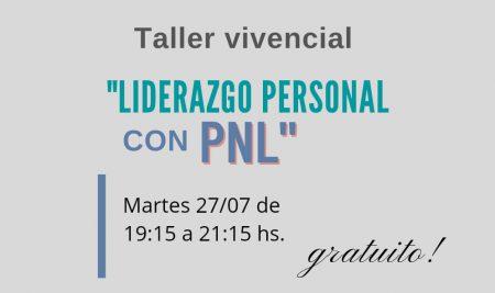 Taller Liderazgo Personal con PNL